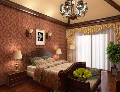 卧室竹地板